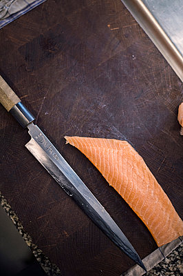 Salmon fillet - p947m2116558 by Cristopher Civitillo