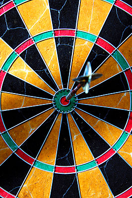 A dartboard. - p31217455f by Philip Laurell