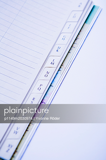 Register - p1149m2030974 von Yvonne Röder