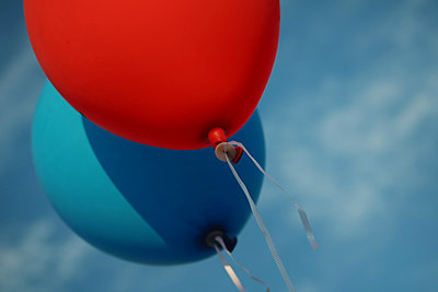 Zwei Luftballons   - p450m1168513 von Hanka Steidle