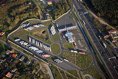 Motorway station - p1016m1590765 by Jochen Knobloch