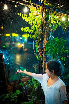 Rainy weather at night - p680m1515280 by Stella Mai