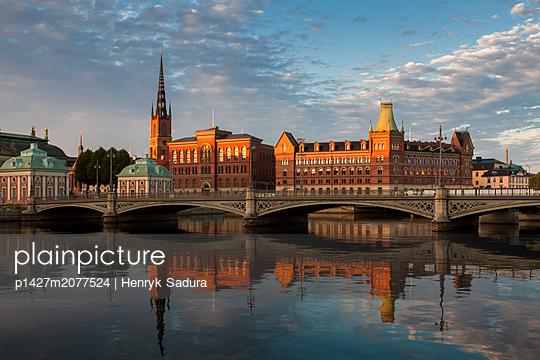 Riddarholmen in Stockholm, Sweden - p1427m2077524 by Henryk Sadura