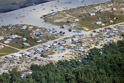 Camping auf dem Darß - p1016m924082 von Jochen Knobloch