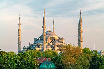 Blick auf die Sultan Ahmed Moschee - p1332m1502666 von Tamboly