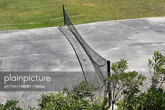 Tennisplatz - p171m1158981 von Rolau