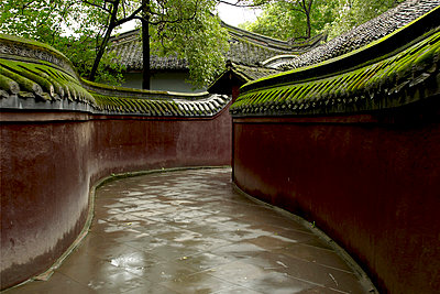 Tempel, Xindu-Baoguangsi-Kloster - p1259m1064561 von J.-P. Westermann