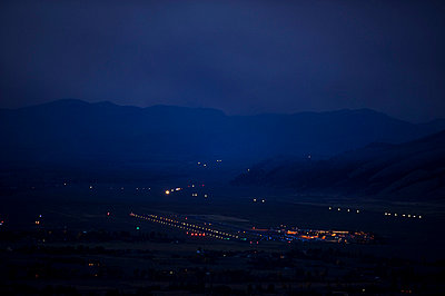 Jackson Hole Airport. - p343m801211f by Kevin Vandivier
