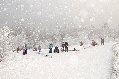 Winterspaß am Feldberg - p470m658680 von Ingrid Michel