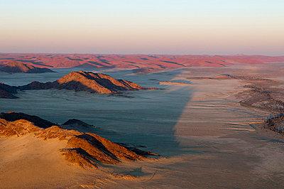 Aerial view, Namib Naukluft Park, Namib Desert, Namibia, Africa - p871m711313 by Sergio Pitamitz