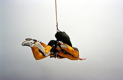 Am Seil schweben - p0450053 von Jasmin Sander