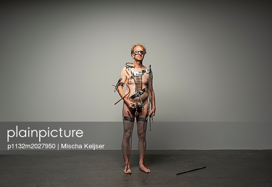 Maschinenmensch - p1132m2027950 von Mischa Keijser