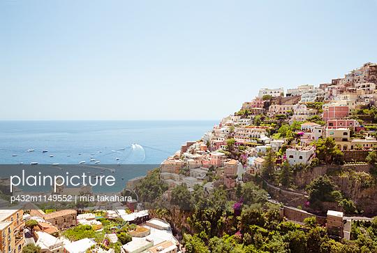 Schöne Aussicht in Positano - p432m1149552 von mia takahara