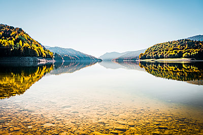 Lake in Romania - p075m2133434 by Lukasz Chrobok