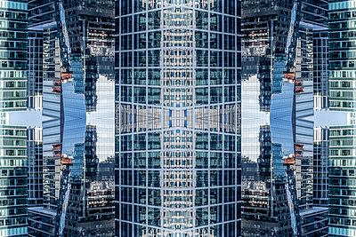 Abstract Architecture Kaleidoscope Boston Seaport - p401m2219865 by Frank Baquet