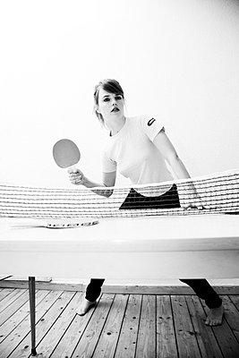 Tischtennis spielen - p9040051 von Stefanie Päffgen