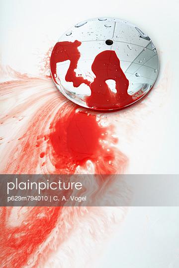 Blut im Bad - p629m794010 von C. A. Vogel