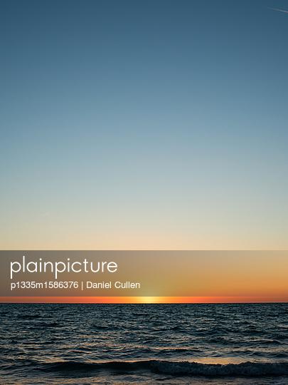 Sunset at the Atlantic Coast - p1335m1586376 by Daniel Cullen