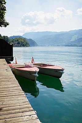 Boote am See - p464m1087093 von Elektrons 08