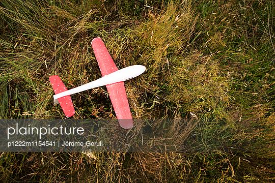 Spielflugzeug - p1222m1154541 von Jérome Gerull