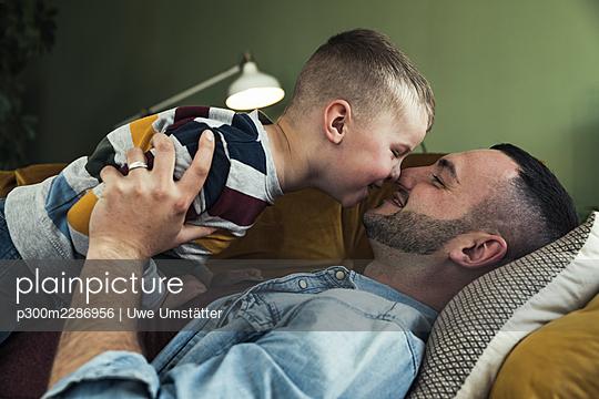 deutschland,mannheim,lifestyle,people,family,zuhause - p300m2286956 von Uwe Umstätter