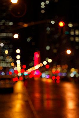 Times Square Abstrakt - p2380522 von Anja Bäcker