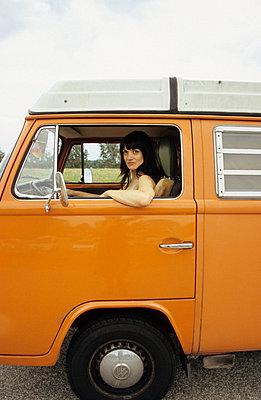 Volkswagen van - p0450473 by Jasmin Sander
