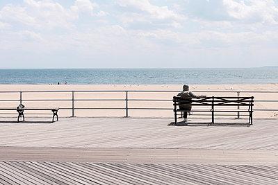 Coney Island Beach - p1340m1441958 von Christoph Lodewick