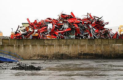 Junk yard - p1043m779495 by Ralf Grossek