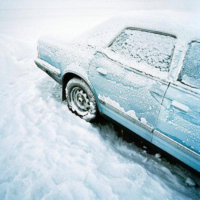 A frosty car Kiruna Sweden. - p31216678f by Susanne Walström