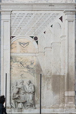 Italy, Relief in Venice - p1624m2222649 by Gabriela Torres Ruiz