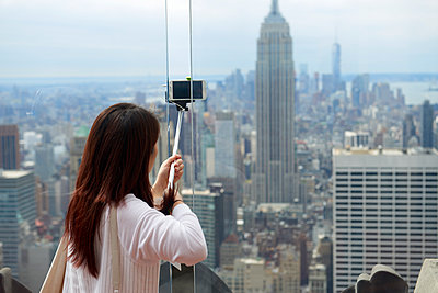 New York City Selfie - p1164m1111528 von Uwe Schinkel