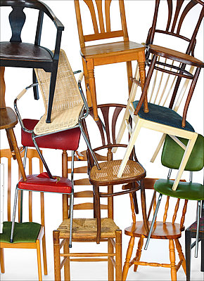 Chairs - p509m1183337 by Reiner Ohms