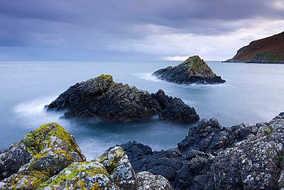 Murlough Bay islands, Causeway Coast, County Antrim, Ulster, Northern Ireland, United Kingdom, Europe - p8712997 by Adam Burton