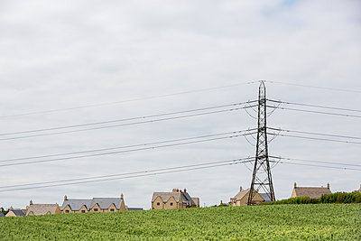 Power pole and overhead line - p1057m1045029 by Stephen Shepherd
