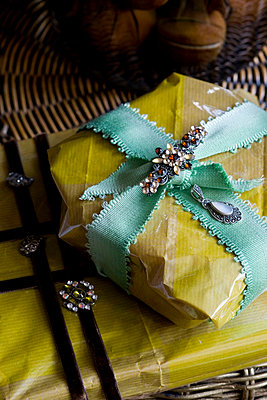 Wrapped Christmas presents - p3493255 by Polly Eltes