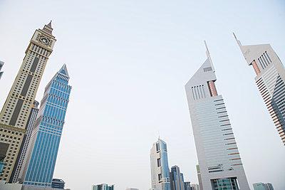 Modern architecture, Dubai, UAE - p429m974576 by Tim E White
