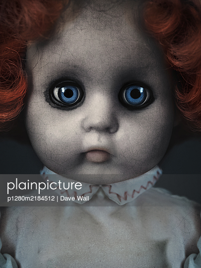 Creepy Doll - p1280m2184512 by Dave Wall