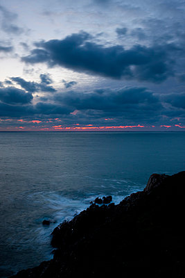 Evening at the French coast - p248m778419 by BY