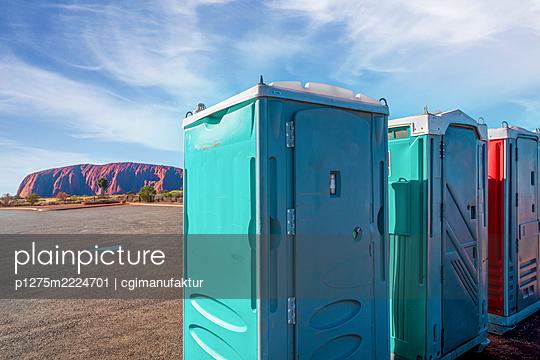 Australien, Ayers Rock, Dixiklos - p1275m2224701 von cgimanufaktur