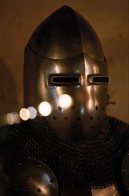 Armor of medieval knight, Prague, Czech Republic - p1028m1115733 by Jean Marmeisse