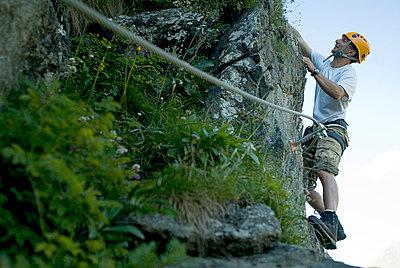 Free climbing - p0810539 by Alexander Keller