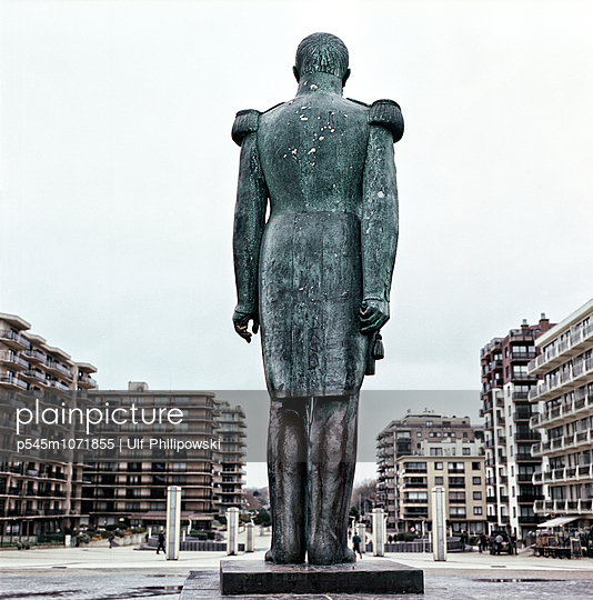 Leopold, De Panne, Belgien - p545m1071855 von Ulf Philipowski