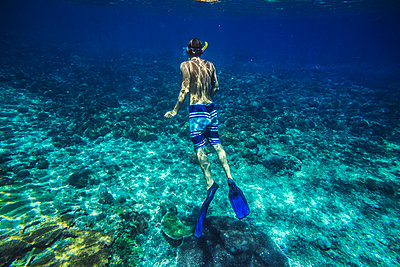 Snorkeling in Indian ocean - p1108m1118843 by trubavin