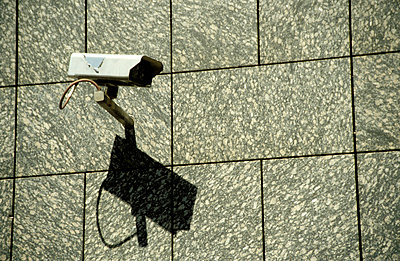 Security camera - p0190152 by Hartmut Gerbsch