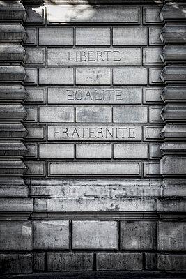 Liberté, Égalité, Fraternité - p1243m1515575 von Archer