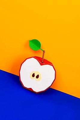 Half apple - p451m2263529 by Anja Weber-Decker