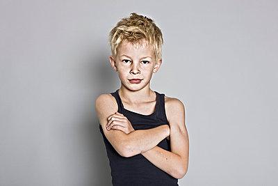 Blonde boy - p713m777198 by Florian Kresse
