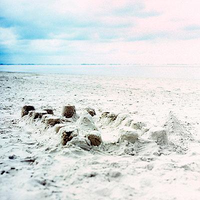 Sandcastle - p989m907161 by Gine Seitz