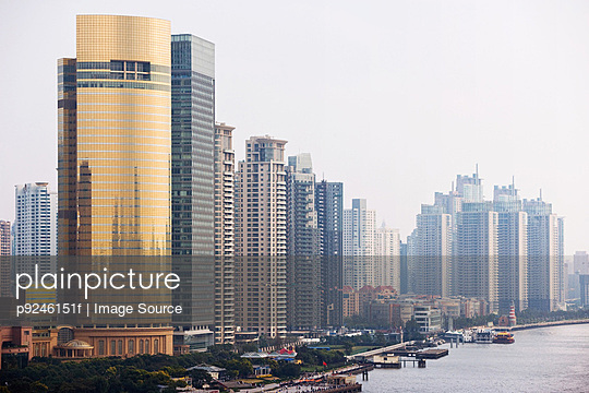 Pudong shanghai - p9246151f by Image Source